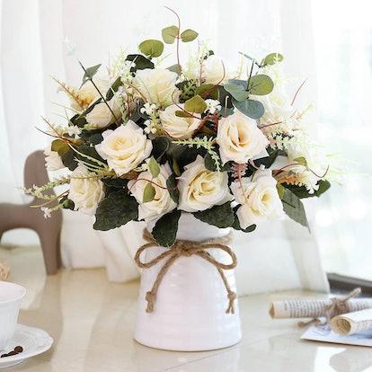 YILIYAJIA Artificial Flowers Arrangements