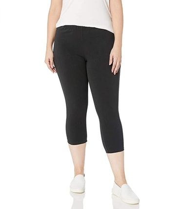Just My Size Women's Plus-Size Capri Legging
