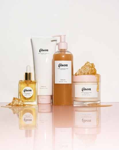 Most of Gisou's hair products include honey, but a handful are propolis-infused.