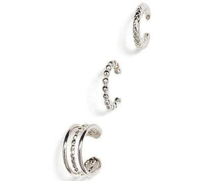 Jules Smith Women's Set of 3 Ear Cuffs