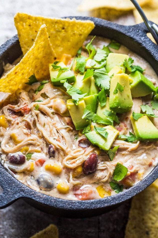 A Cozy Kitchen instant pot chicken tortilla soup
