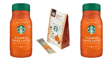 The easier way to recreate the Starbucks' Pumpkin Spice Latte is with the PSL products Starbucks sel...