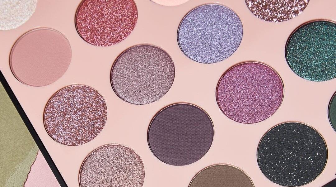 Shade range of the Morphe 35C Everyday Chic Artistry Palette.