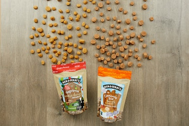 Ben & Jerry's new Gingerbread and Cinnamon Bun edible cookie dough flavors are coming to stores soon...