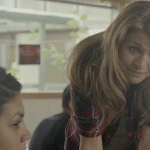 Mille Dinesen as Rita in Rita via a screenshot
