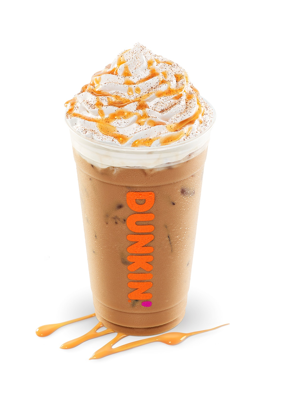 Dunkin's new PSL comes hot or iced.