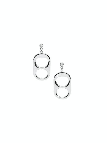 Diamond Pressurized Earrings