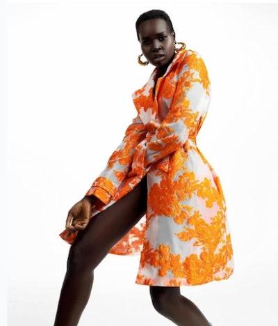 Mari Trench Dress
