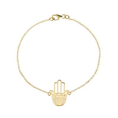 Latelita Cosmic Hamsa Gold Bracelet