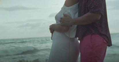"is Chrissy Teigen pregnant in John Legend's ""Wild"" music video"
