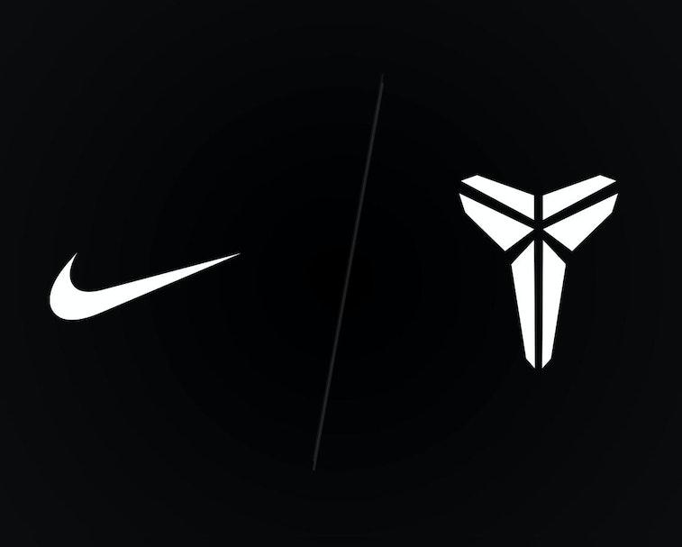 Nike and Mamba logos