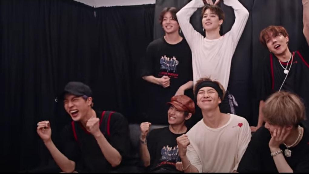 BTS appear in their 'Break The Silence' movie trailer.