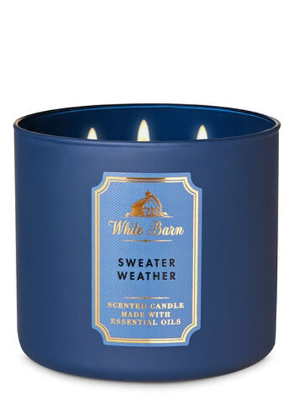 White Barn Sweater Weather 3-Wick Candle