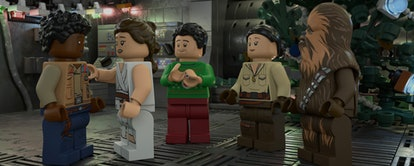 Disney+'s Lego Star Wars Holiday Special is a Rey adventure.
