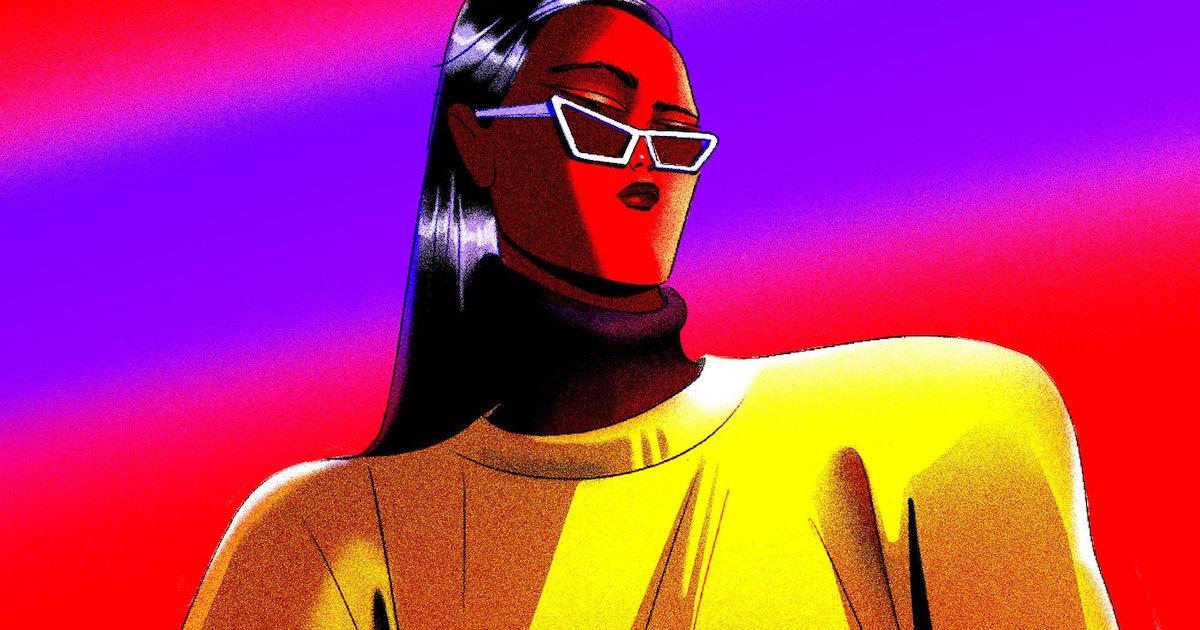 Pop art goes art deco in Simone Noronha's eye-popping illustrations