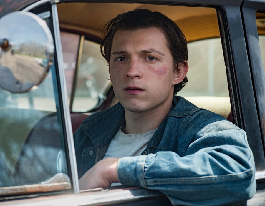 'The Devil All The Time' Trailer Tom Holland (via Netflix Press site)