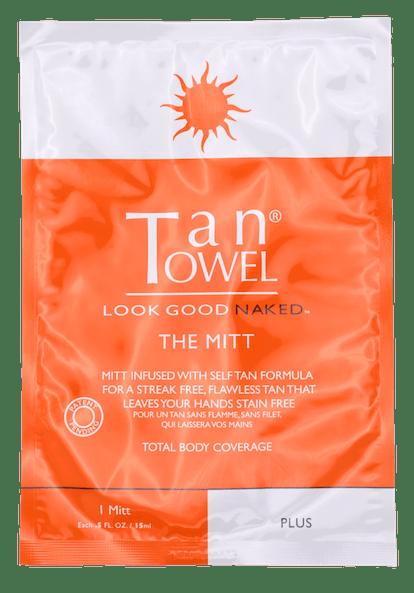 Tan Towel The Mitt