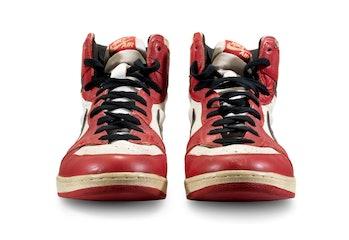 """Air Jordan 1 """"Shattered Backboard"""" Auction"""