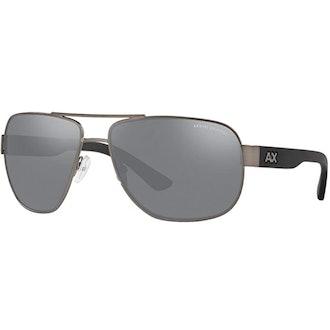 AX Armani Exchange AX2012s Metal Sunglasses