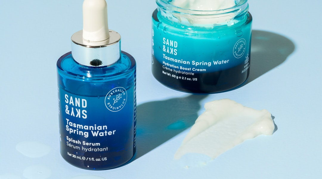 Sand & Sky's newest launch features two super quenching products — a moisturizer and serum.