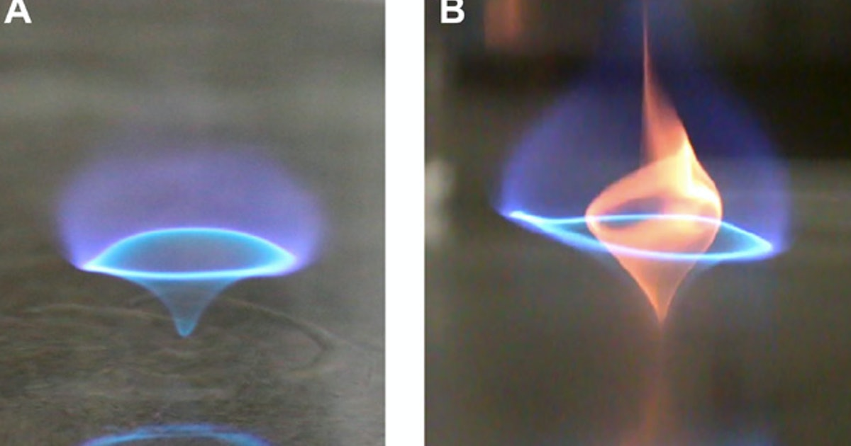 "Image of article 'Video: A mesmerizing ""blue whirl"" could change the future of fossil fuels'"
