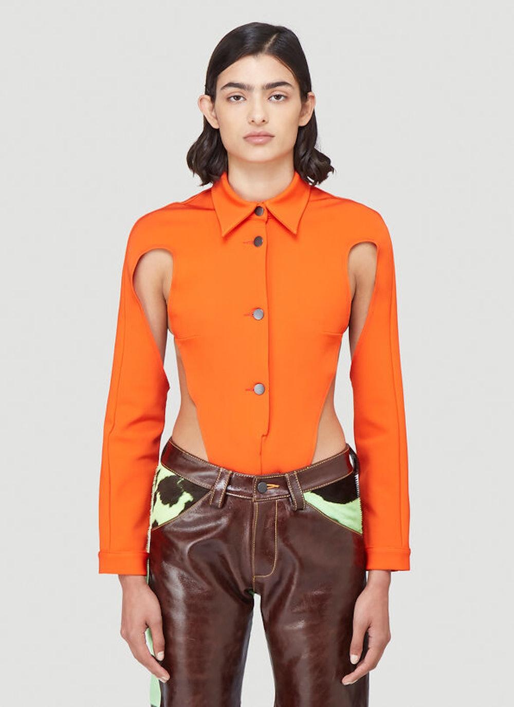Thong Shirt in Orange