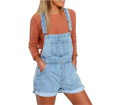Vetinee Denim Shortalls