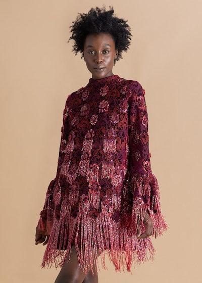 Megan Embroidered Floral Dress