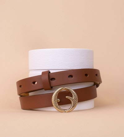 Mini Brass Buckle Belt