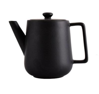 Matte Black Teapot