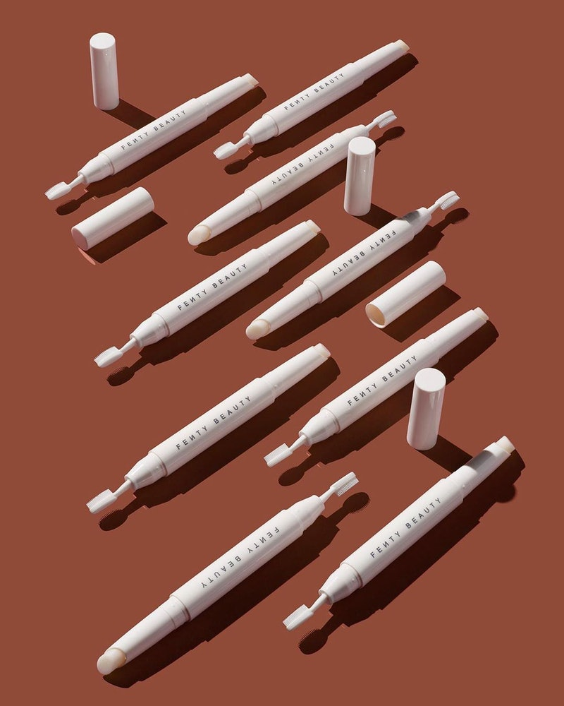 Fenty Beauty just dropped a new waxy brow pencil and new shades of gloss.