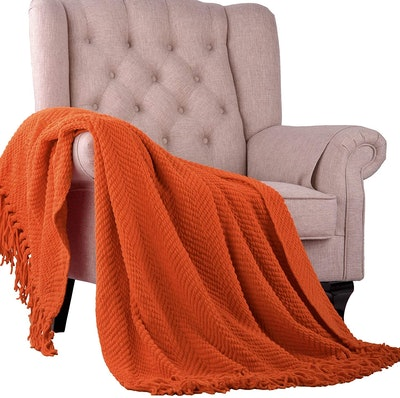 Home Soft Things Knitted Blanket