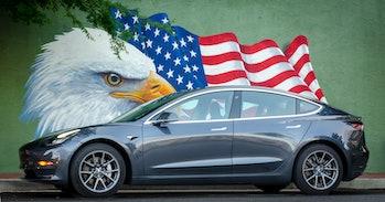 Gary's Tesla Model 3.