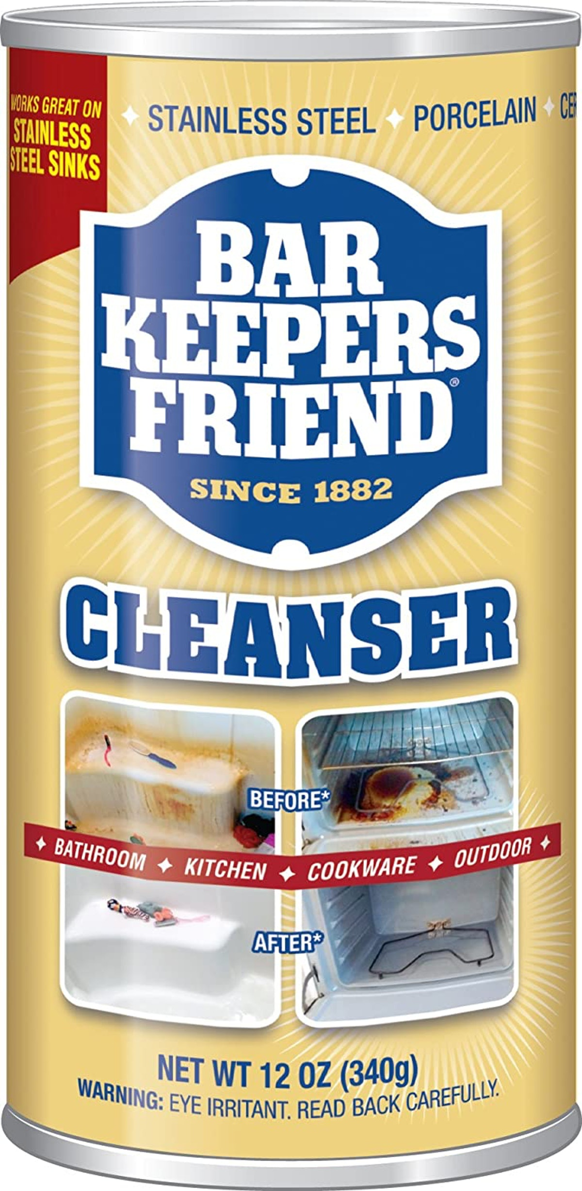 Bar Keepers Friend Powdered Cleanser (12 ounces)