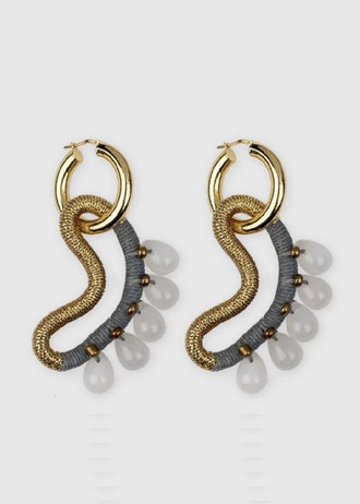 Jade Cornocopia Earrings