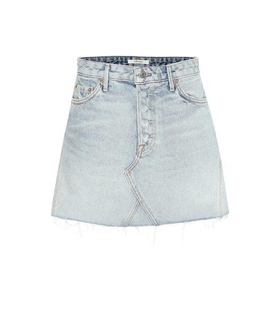 Eva Denim Miniskirt