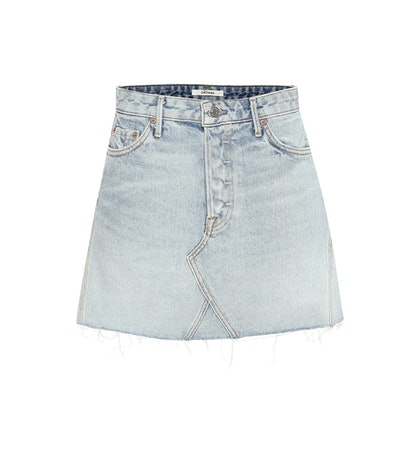 Eva Denim Miniskirt