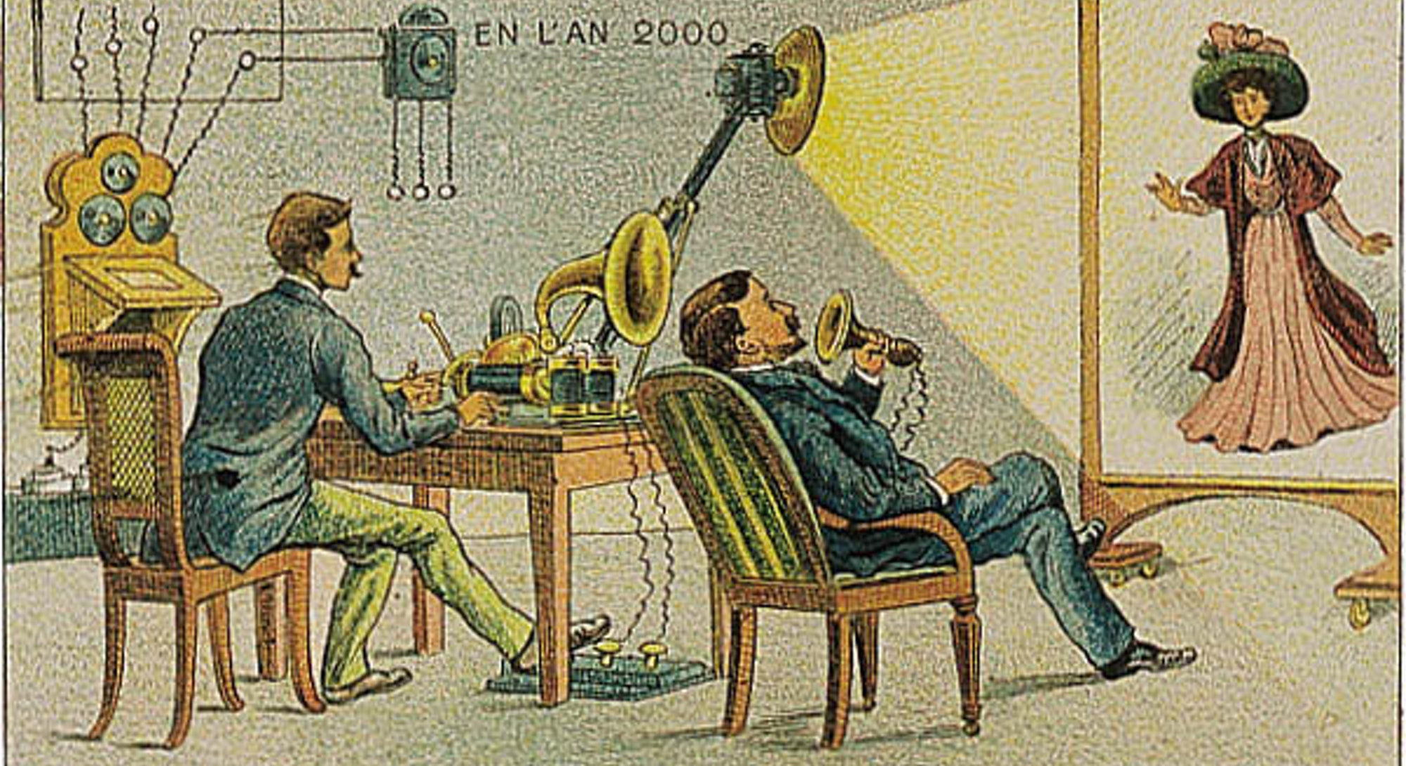 Early video phone.