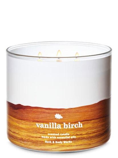 Vanilla Birch 3-Wick Candle