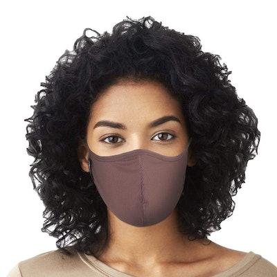 Mocha Rib Face Mask