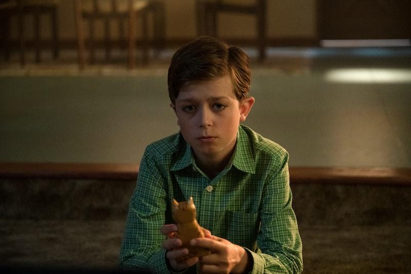 Harlan in Umbrella Academy via the Netflix press site.