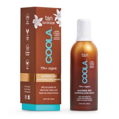 Coola Organic Sunless Tan Luminizing Body Serum