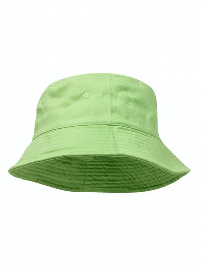 Pigment Dyed Bucket Hat, Apple Green