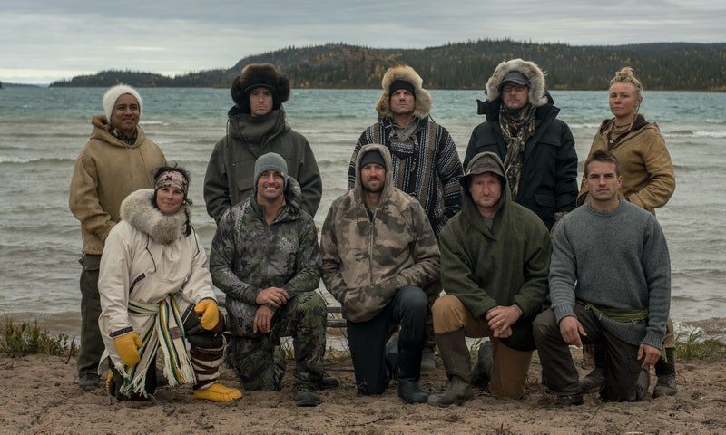 The cast of Season 7 of Alone via the History channel press site