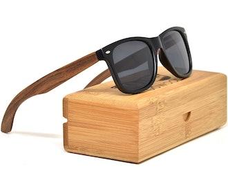 GOWOOD Walnut Wood Sunglasses