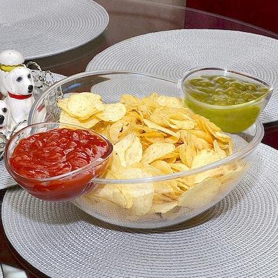 Roe & Moe Chip and Dip Bowl