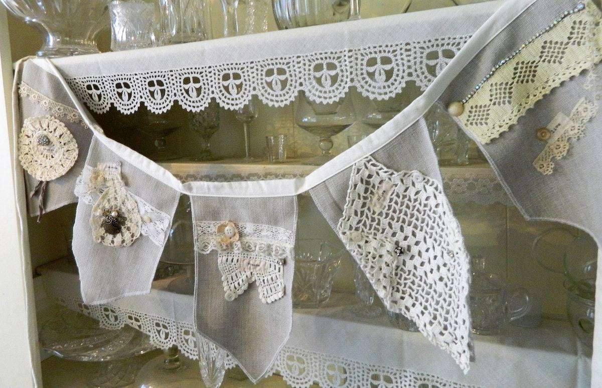 Fabric Bunting Inspirational Garland