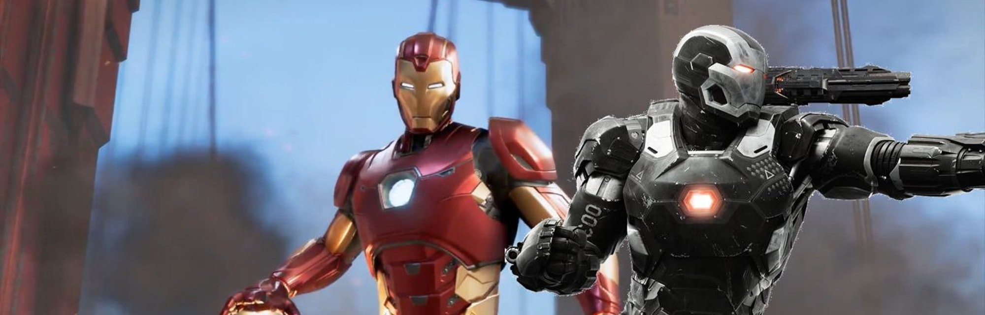 marvel's avengers game iron man war machine mcu