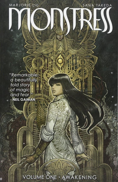 'Monstress, vol. 1: Awakening' by Marjorie Liu and Sana Takeda