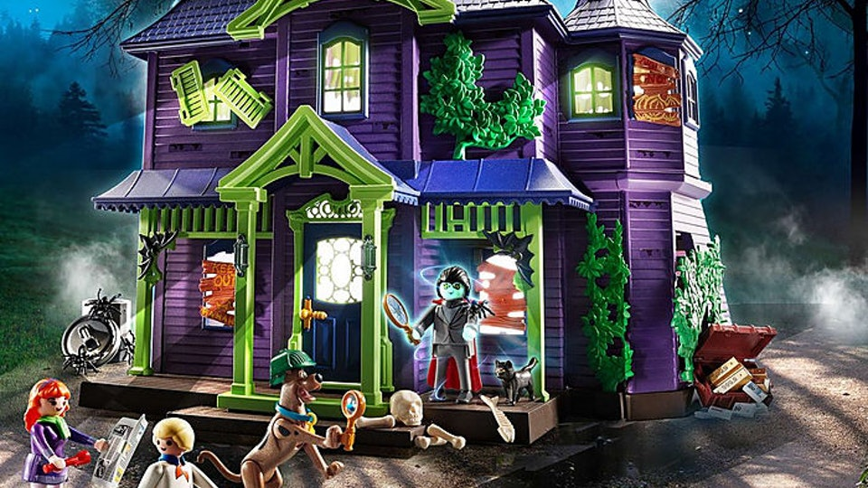 playmobil scooby doo mansion